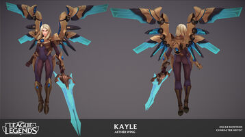 Kayle Update Ätherflügel- Model 02