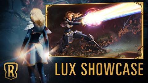 Lux Champion Showcase Gameplay - Legends of Runeterra