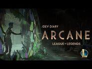 -dev diary- Arcane Animated Series