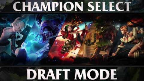 Draft Mode — Champion Select Music