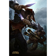 Graves vs Twisted Fate Promo