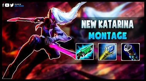Katarina Rework Montage - Amazing Katarina Plays