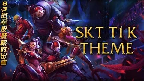 LoL Login theme - Chinese - 2014 - SKT T1 K