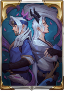 LoR Crossed Spirits Card Back