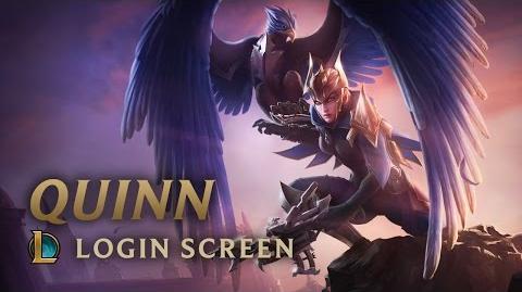 Quinn - ekran logowania