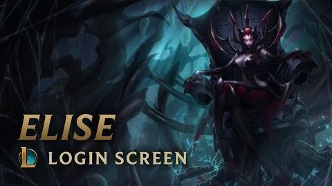 Elise (Harrowing 2012) - ekran logowania