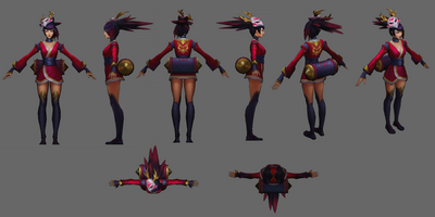 Akali Update Blutmond Model 02
