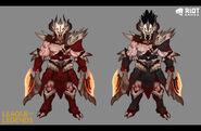 Olaf Dragonslayer Concept 01