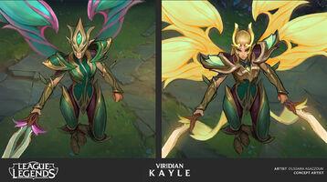 Kayle Update Viridian- Konzept 02