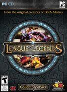 League of Legends CD Cover