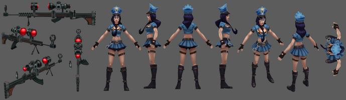 Caitlyn Officer Model 01