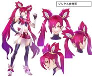 Jinx StarGuardian BurningBright Concept 01