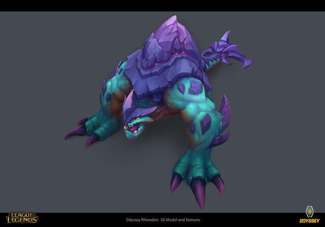 Odyssey Rhinodon concept 04