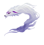Spirit Bonds Model Kindred Wolf Sad