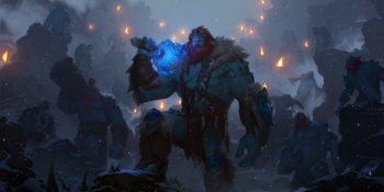Trundle and the Frost-Trolls.