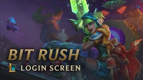 Bit Rush - Login Screen