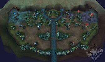 Blitzpartie Karte Alpha