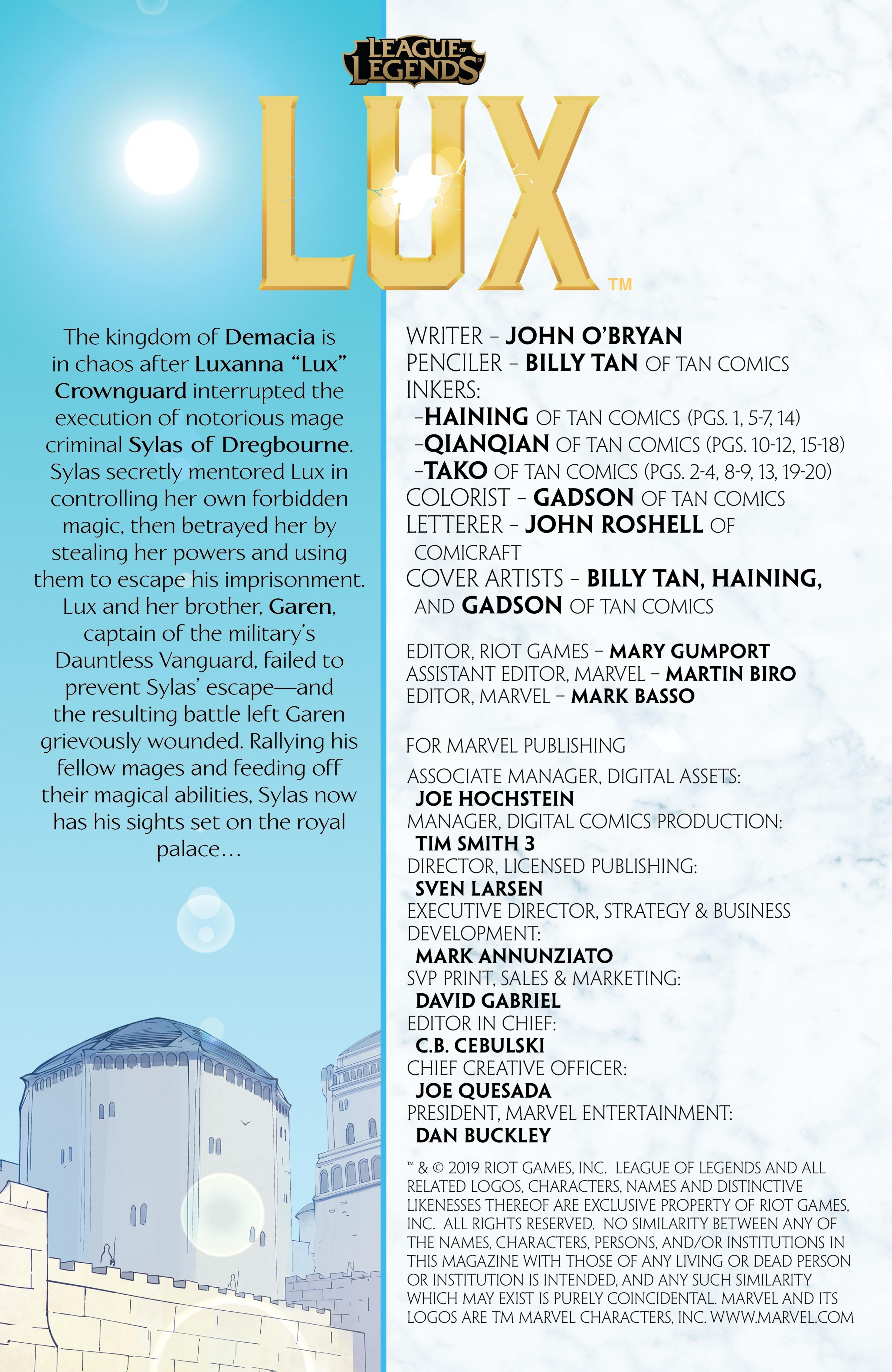Lux: Issue 4