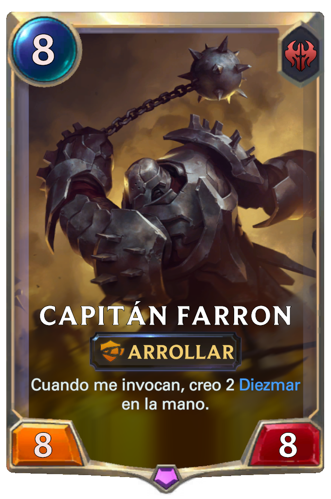 Capitán Farron (Legends of Runeterra)