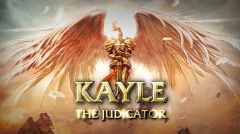 Kayle Presentación de campeón