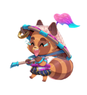 Spirit Bonds Model Teemo Laughing