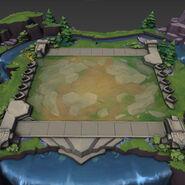 Teamfight Tactics Default Arena map