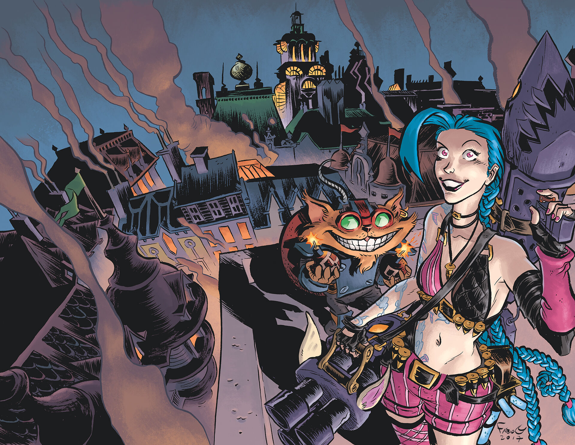 Ziggs and Jinx Paint the Town cover 02.jpg