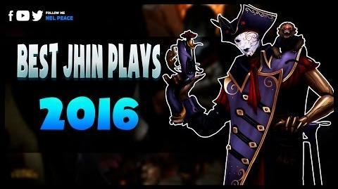 Best Jhin Plays in League of Legends (Unbelievable Mechanics)