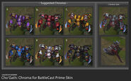 Cho'Gath BattlecastPrime Chroma Concept 01