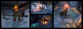 Hecarim Headless Screenshots