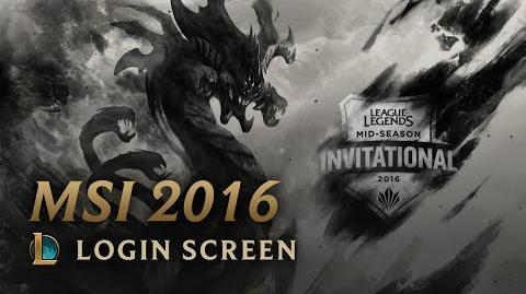 MSI 2016 - ekran logowania