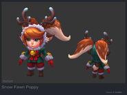 Poppy SnowFawn model 02