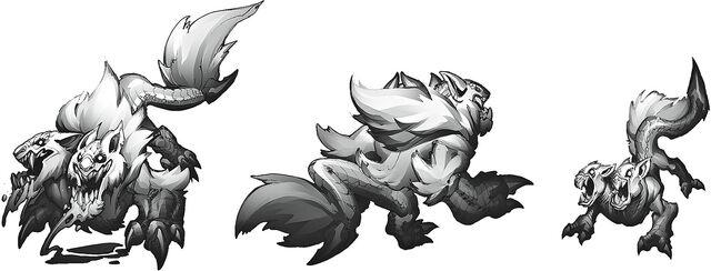 Wolves concept 03