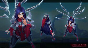 Irelia Update model 01