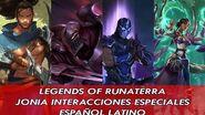 Región de Jonia Interacciones Especiales - Legends of Runeterra