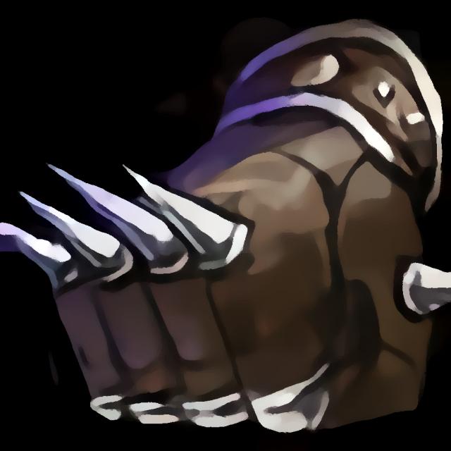 Handschuhe des Schlägers