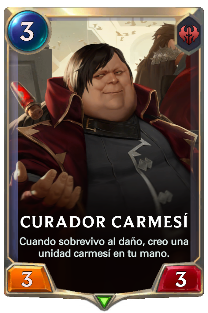 Curador Carmesí (Legends of Runeterra)