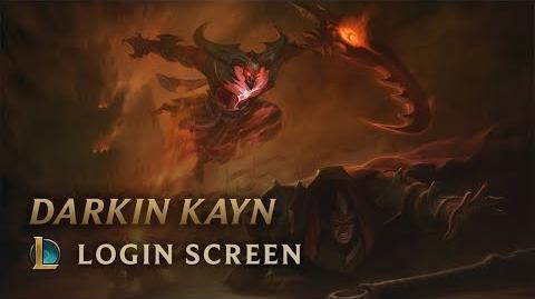 Darkin Kayn - Login Screen