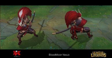 Yasuo Blutmond- Konzept