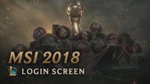 MSI 2018 - ekran logowania