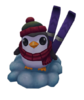 Penguin Skier Ward