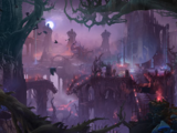 Forêt torturée