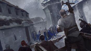 Meltridge riot during Mage Rebellion.