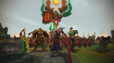 Jahr des Imperators Skins-Trailer zur Mondwende 2017 – League of Legends