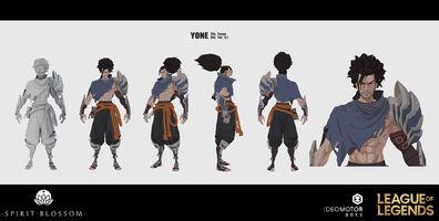 Yasuo Brüder der Blutbefleckten Klinge Model 06