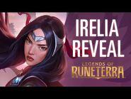 Irelia Reveal - New Champion - Legends of Runeterra
