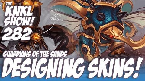 KNKL 282 Designing for Guardians of the Sands!