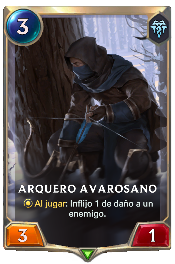 Arquero Avarosano (Legends of Runeterra)