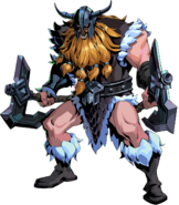 RotS Model Olaf Berserker Rage