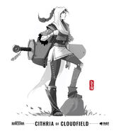 Cithria of Cloudfield LoR Concept 02